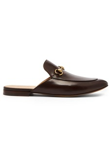 Gucci Kings backless leather loafers