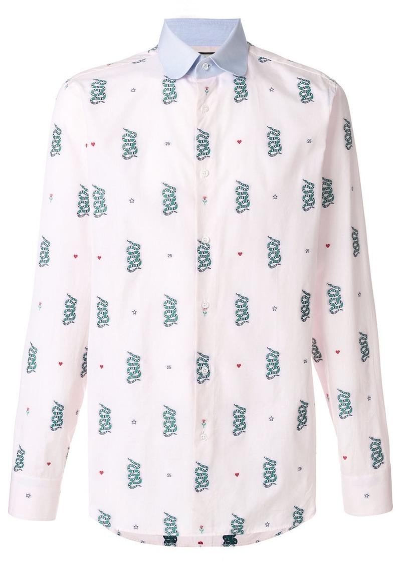 5114014b414 Gucci Kingsnake embroidered shirt | Casual Shirts