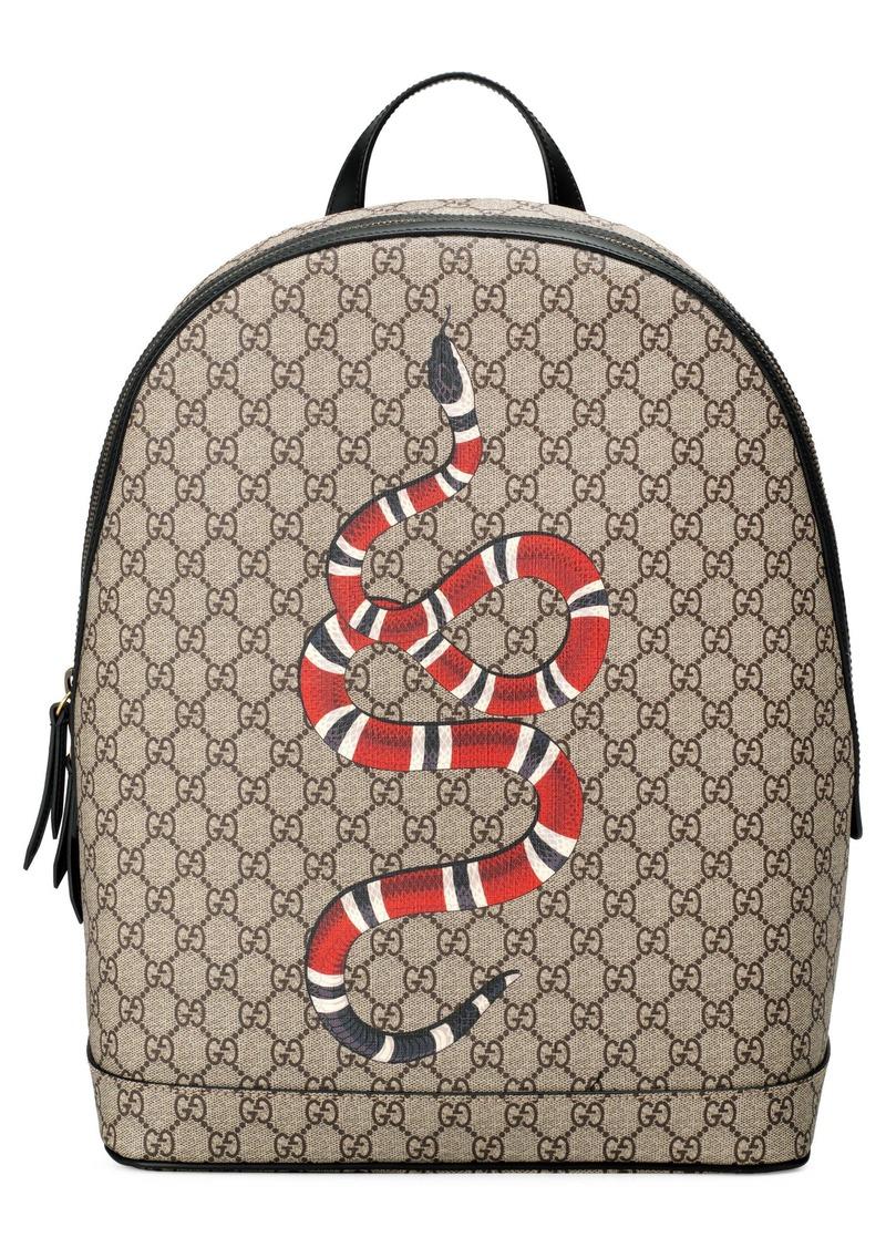 d17f6b68085e05 Gucci Gucci Kingsnake GG Supreme Backpack | Bags