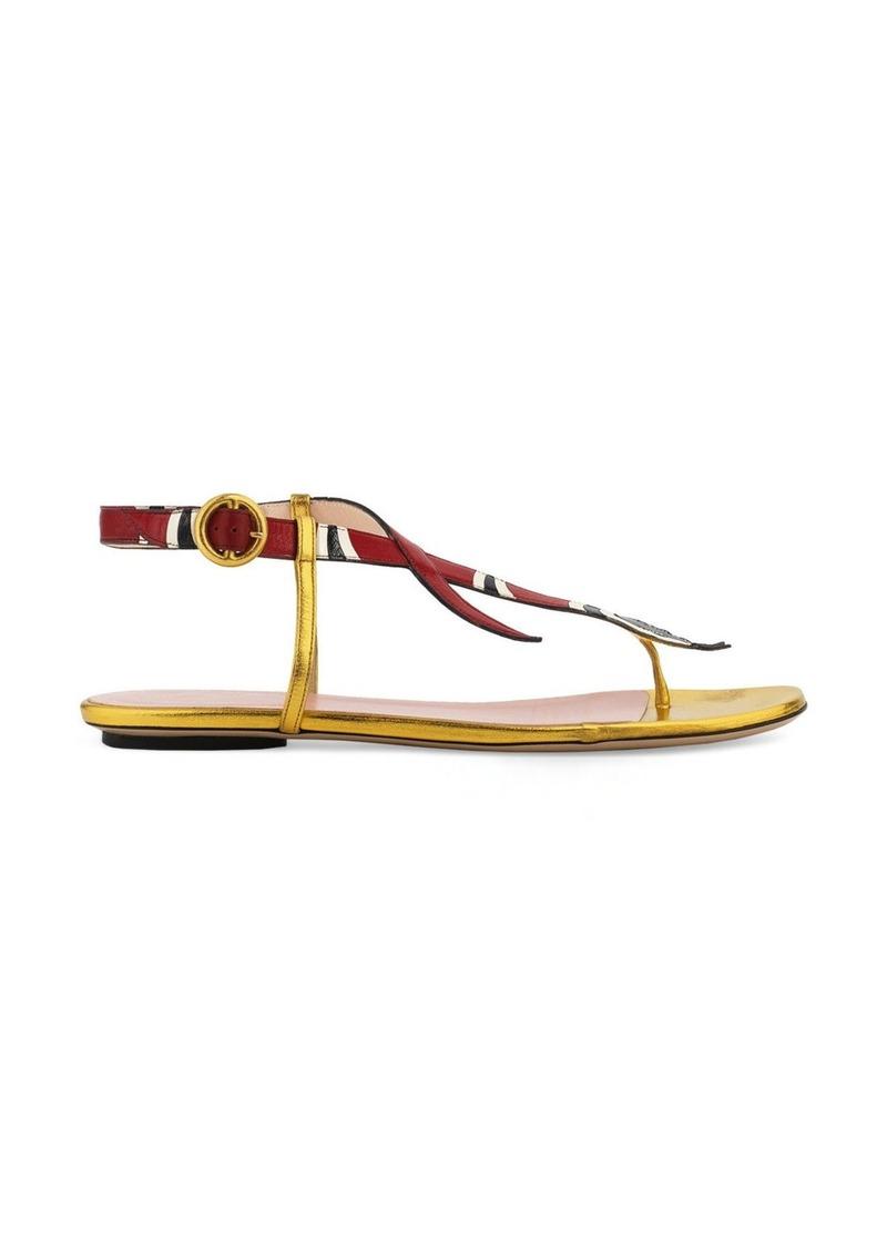 31309b1ef011 Gucci Gucci Kingsnake Sandal (Women)