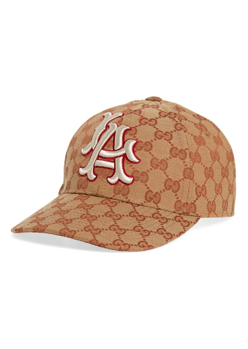 303c7a9fda6fe Gucci Gucci LA Original GG Canvas Baseball Cap