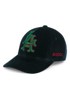 Gucci Velvet Ball Cap