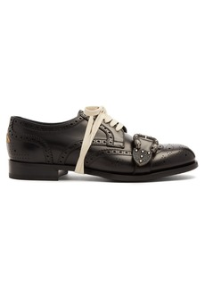 Gucci Lace-up leather brogues