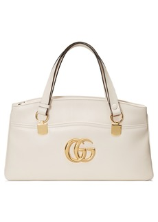 Gucci Large Arli Leather Top Handle Bag