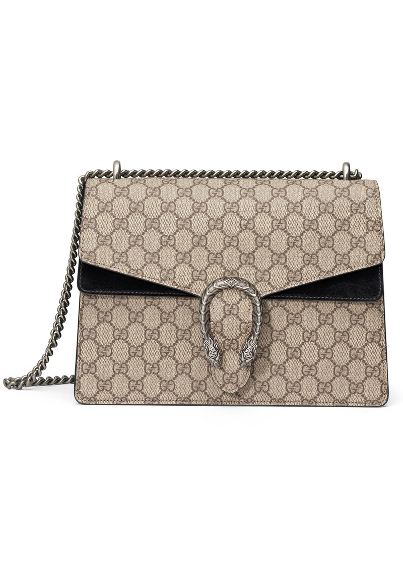 17b84cc137b6 Gucci Gucci Large Dionysus GG Supreme Canvas & Suede Shoulder Bag ...