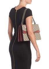 213377b7972 Gucci Gucci Large Floral GG Supreme Canvas   Suede Shoulder Bag ...