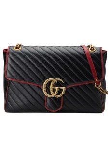 Gucci Large GG Marmont 2.0 Matelassé Leather Shoulder Bag