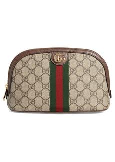 Gucci Large Ophidia GG Supreme Canvas Cosmetics Case