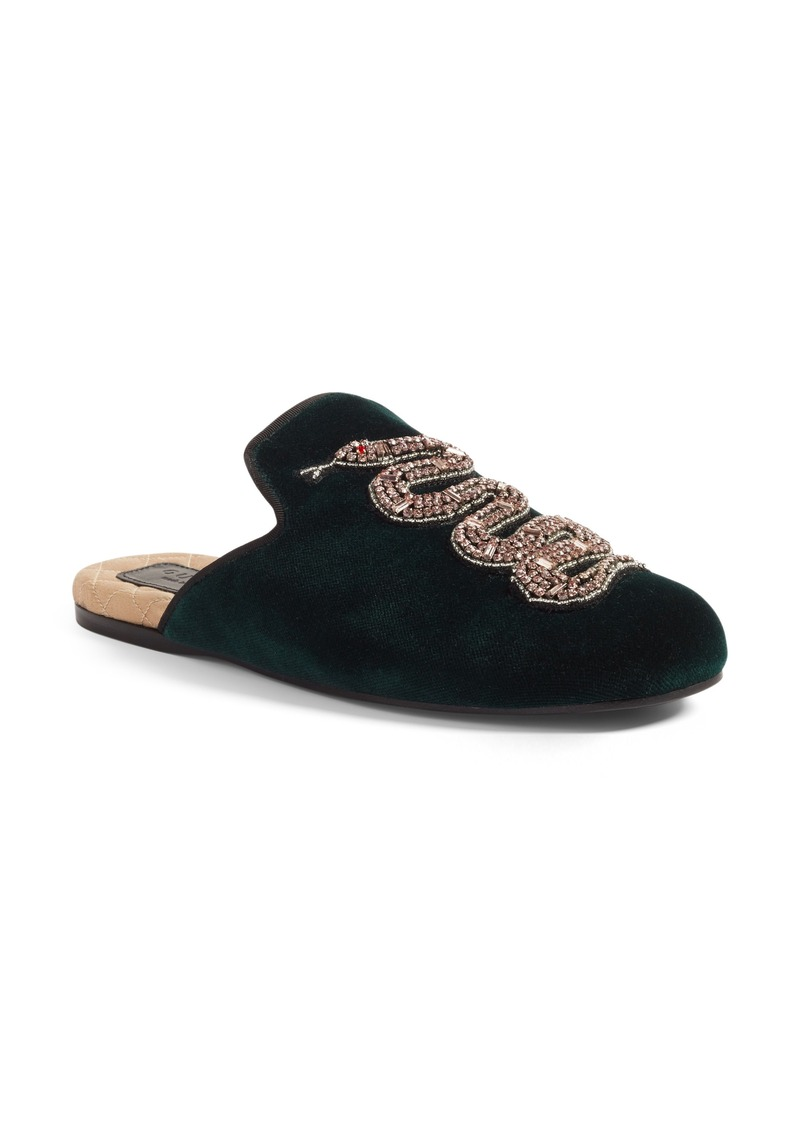3ad6dbb12a7 Gucci Gucci Lawrence Snake Mule (Women)
