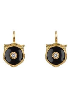 Gucci Le Marche des Merveilles Feline Drop Earrings