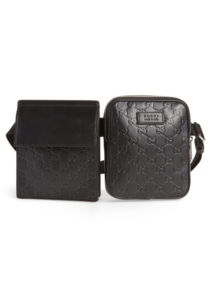 ad498ffcbd8 Gucci Gucci Leather Belt Bag | Handbags
