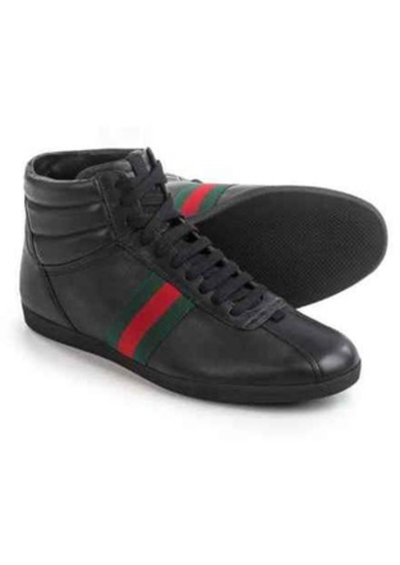 1e95d7dee95 Gucci Gucci Leather High-Top Sneakers (For Men)