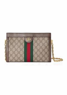 Gucci Linea Dragoni Small GG Supreme Canvas Chain Shoulder Bag