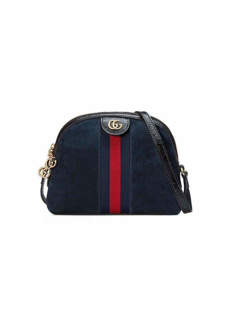 c4f6967e1c8 Gucci Gucci Linea Dragoni Suede Small Chain Shoulder Bag