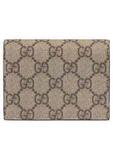 Gucci Linea GG Supreme Canvas Card Case
