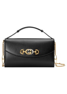 Gucci Linea Zumi Small Leather Shoulder Bag