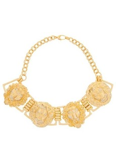 Gucci Lion-head choker necklace