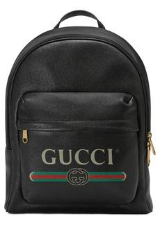 Gucci Logo Backpack