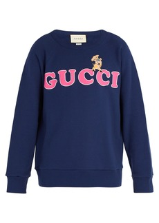 Gucci Logo cotton sweatshirt
