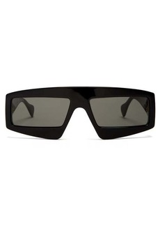Gucci Logo-embellished acetate sunglasses