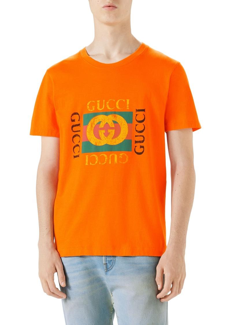 7477e10f5b4 Gucci Gucci Logo Graphic T-Shirt