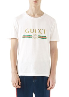 Gucci Logo Graphic T-Shirt