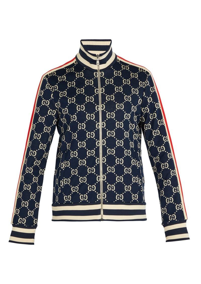 e03df3e4a Gucci Gucci Logo-jacquard cotton track jacket