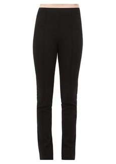 Gucci Logo-jacquard pintucked leggings