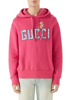 Gucci Logo Patch Pullover Hoodie