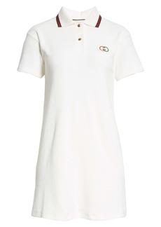 Gucci Logo Patch Tennis Polo Dress