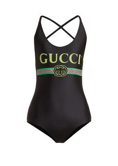 Gucci Logo-print bodysuit