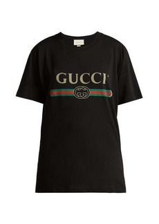 Gucci Logo-print cotton T-shirt