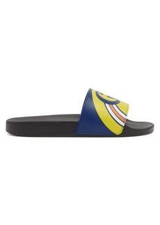Gucci Logo-print rubber slides