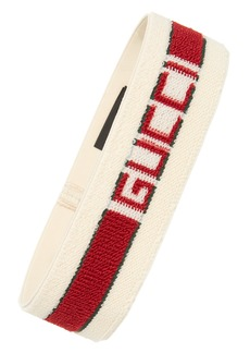 Gucci Logo Stripe Headband