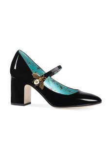 Gucci Lois Bee Mary Jane Pump (Women)