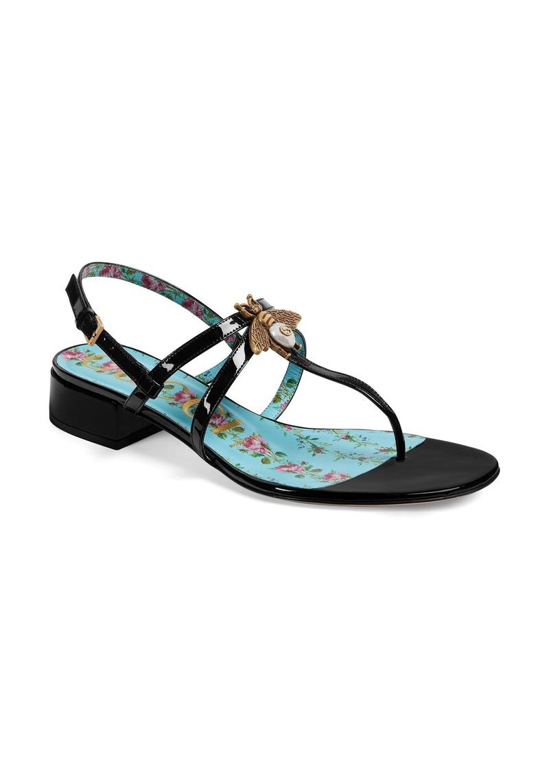 2dfe91b32d5 Gucci Gucci Bee Thong Sandal (Women)