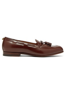 Gucci Loomis leather tassel loafers