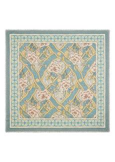 Gucci Loraine Floral Wool & Silk Scarf