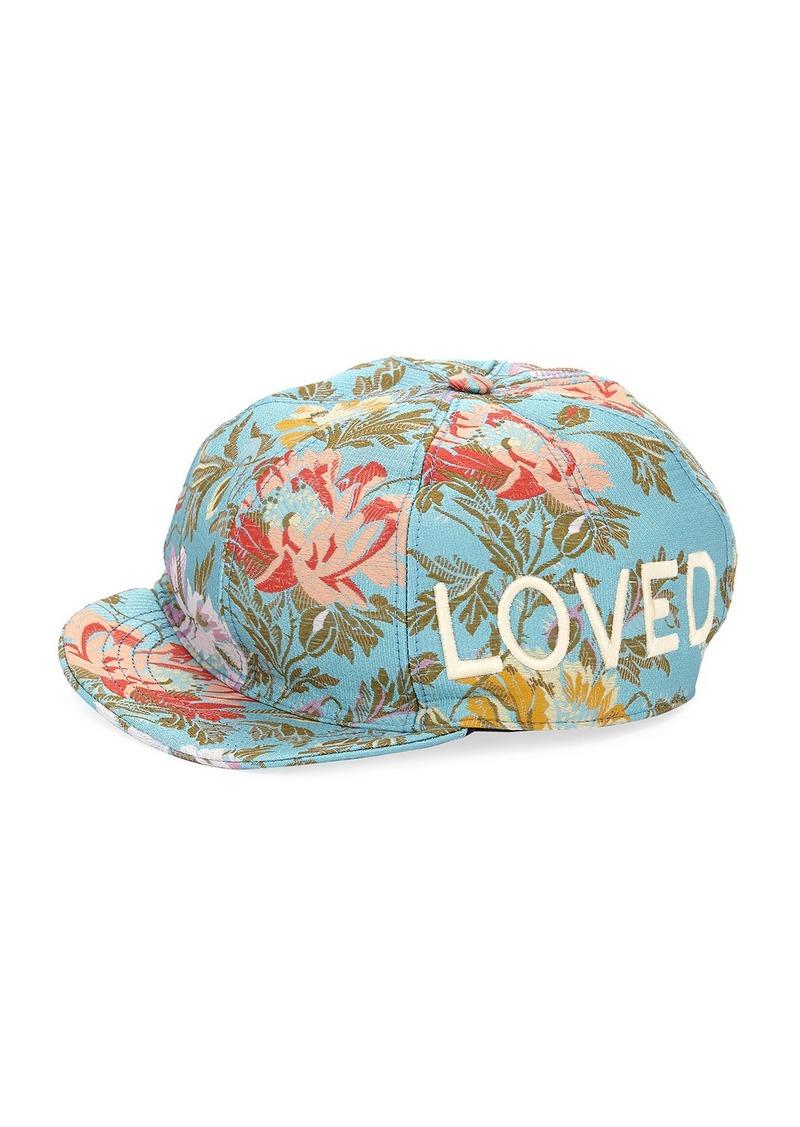 Gucci Gucci Loved Floral Jacquard Baseball Cap b3d690317aa