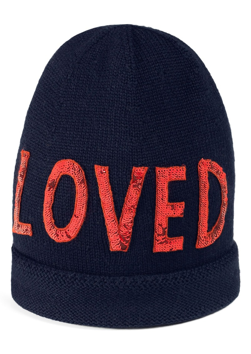 6c941c985c9d8 Gucci Gucci Loved Sequin Wool Beanie