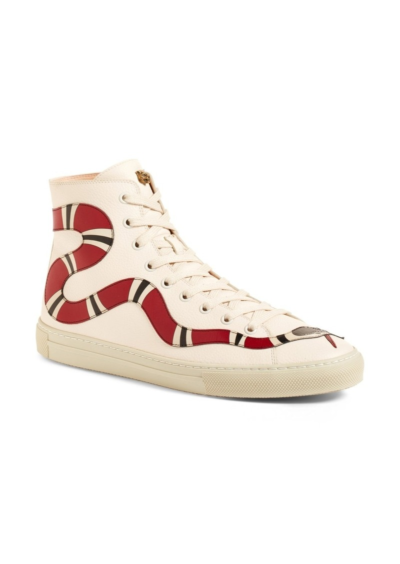 Gucci Gucci Major Snake High Top Sneaker (Women)  790543523