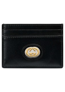 Gucci Marina Logo Hardware Leather Card Case