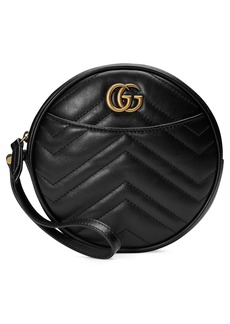 Gucci Marmont 2.0 Leather Wristlet Clutch
