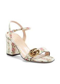 Gucci Marmont Block Heel Sandal (Women)