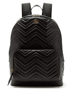 Gucci Marmont leather backpack