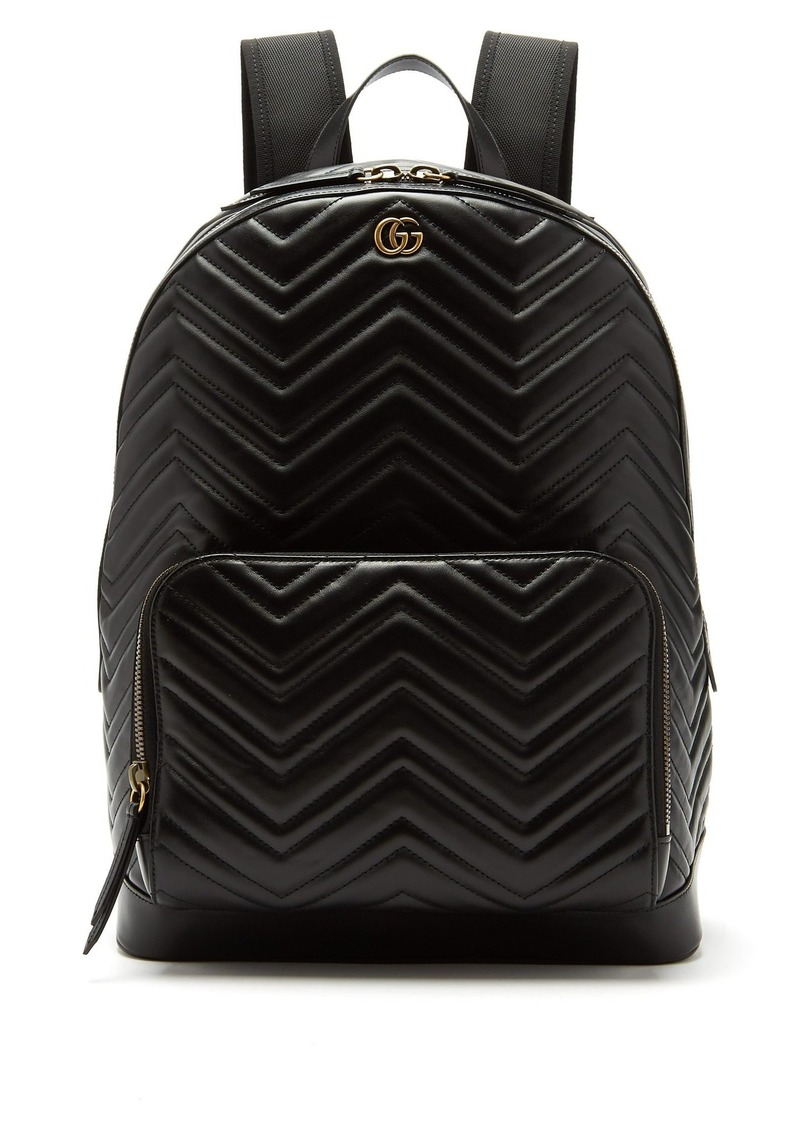 Gucci Gucci Marmont leather backpack