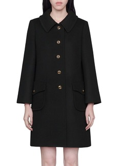 Gucci Martingale Belt Wool Coat