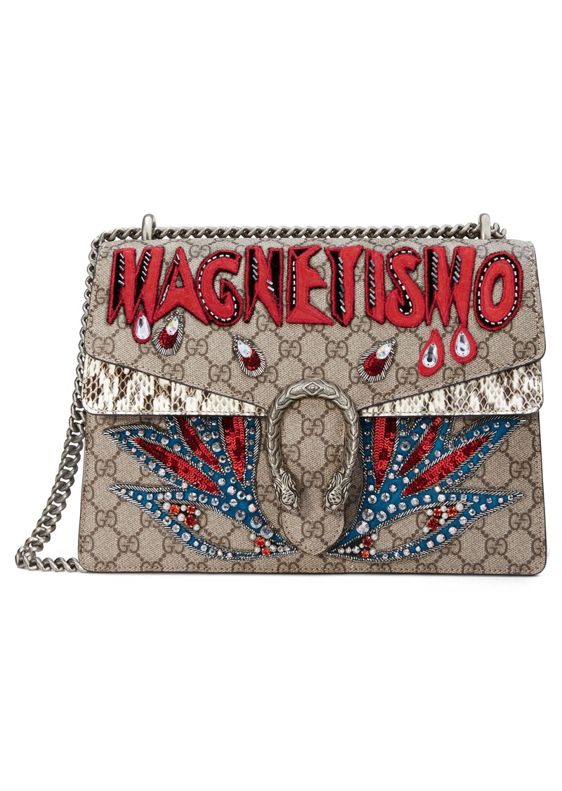 0704e7edd82 Gucci Dionysus Gg Supreme Canvas Shoulder Bag - Best Photos Skirt ...