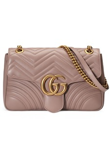 Gucci Medium GG Marmont 2.0 Matelassé Leather Shoulder Bag