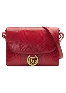 Gucci Medium GG Ring Genuine Python Shoulder Bag